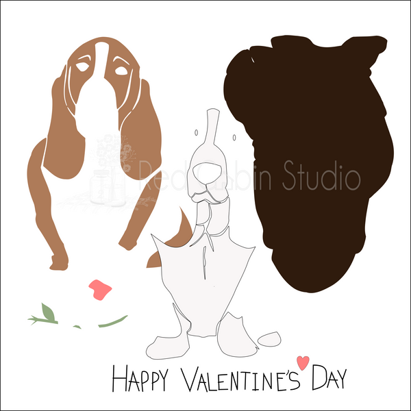 Basset Hound SVG Digital Download