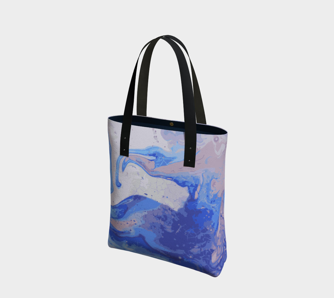 Blueberry Syrup Canvas Tote