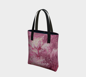 Marbled Canvas Tote