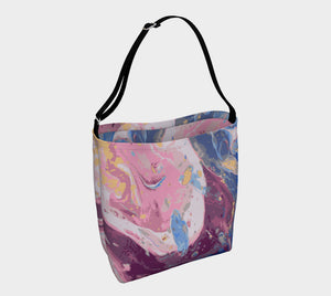 Oceanscape Marbled Day Tote