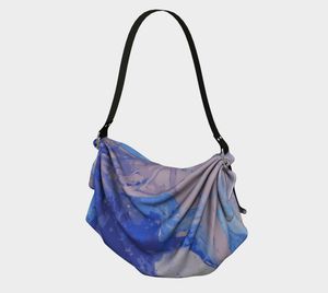 Blueberry Syrup Origami Tote