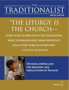 The Traditionalist Magazine All issues – Roman Catholic Books