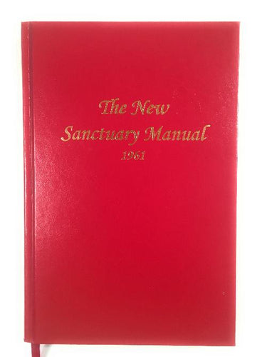 The New Sanctuary Manual