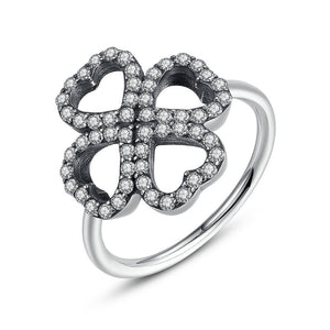 Luxury Clover Ring