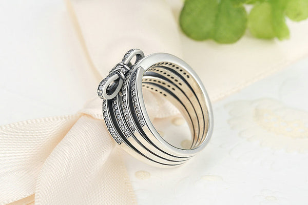 Luxury Bow Knot Ring