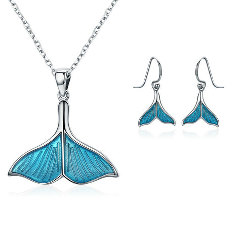 Blue Ocean Jewelry Set