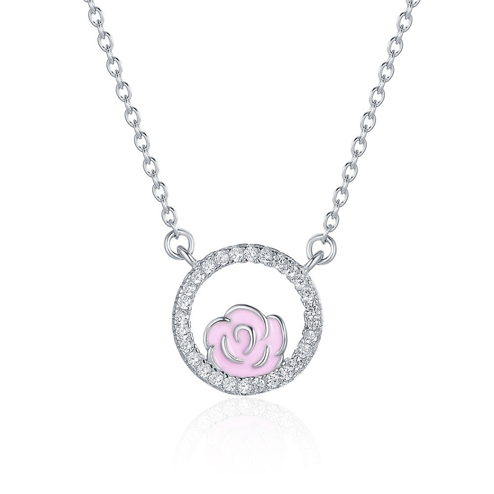 Circle of Roses Necklace