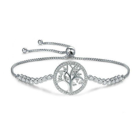Tree of Life Tennis Chain Bracelet