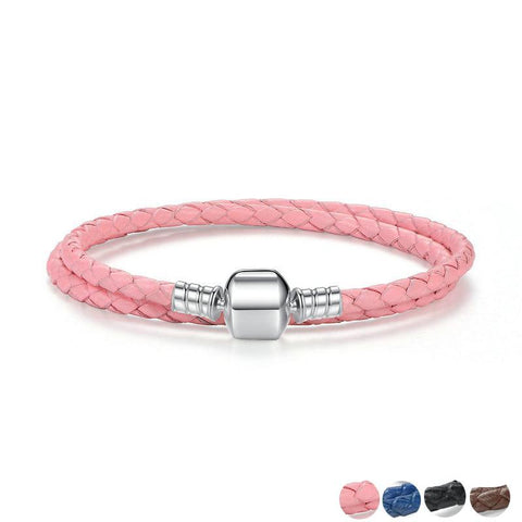 4 Colors Classic Genuine Leather Bracelet
