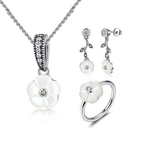 White Love Jewelry Set