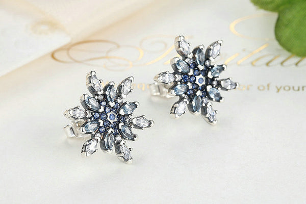 Crystal Snowflake Jewelry Set