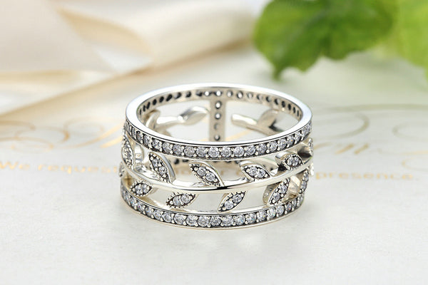 Gifted Spark Tree Leaf Ring