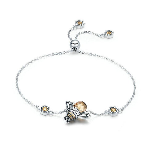 Bee's Queen Chain Bracelet
