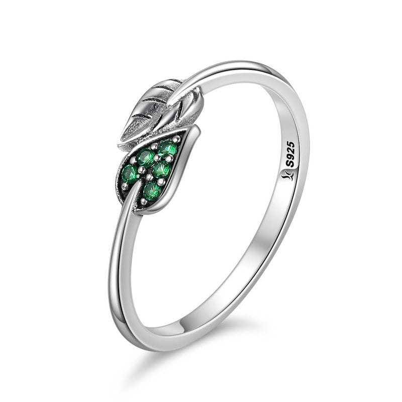 The Green Leaf Ring