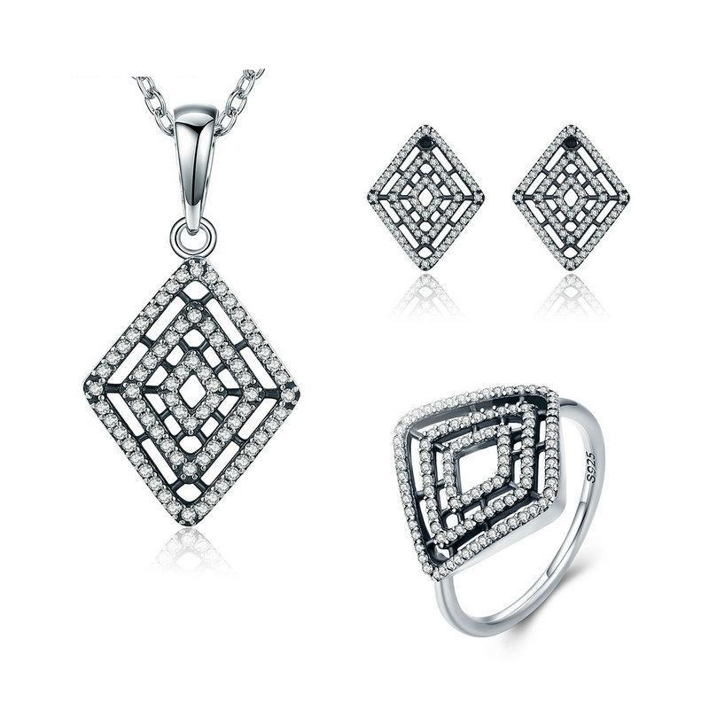 Geometric Jewelry Set