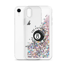 Load image into Gallery viewer, The Future is Female Orgasms Liquid Glitter Phone Case
