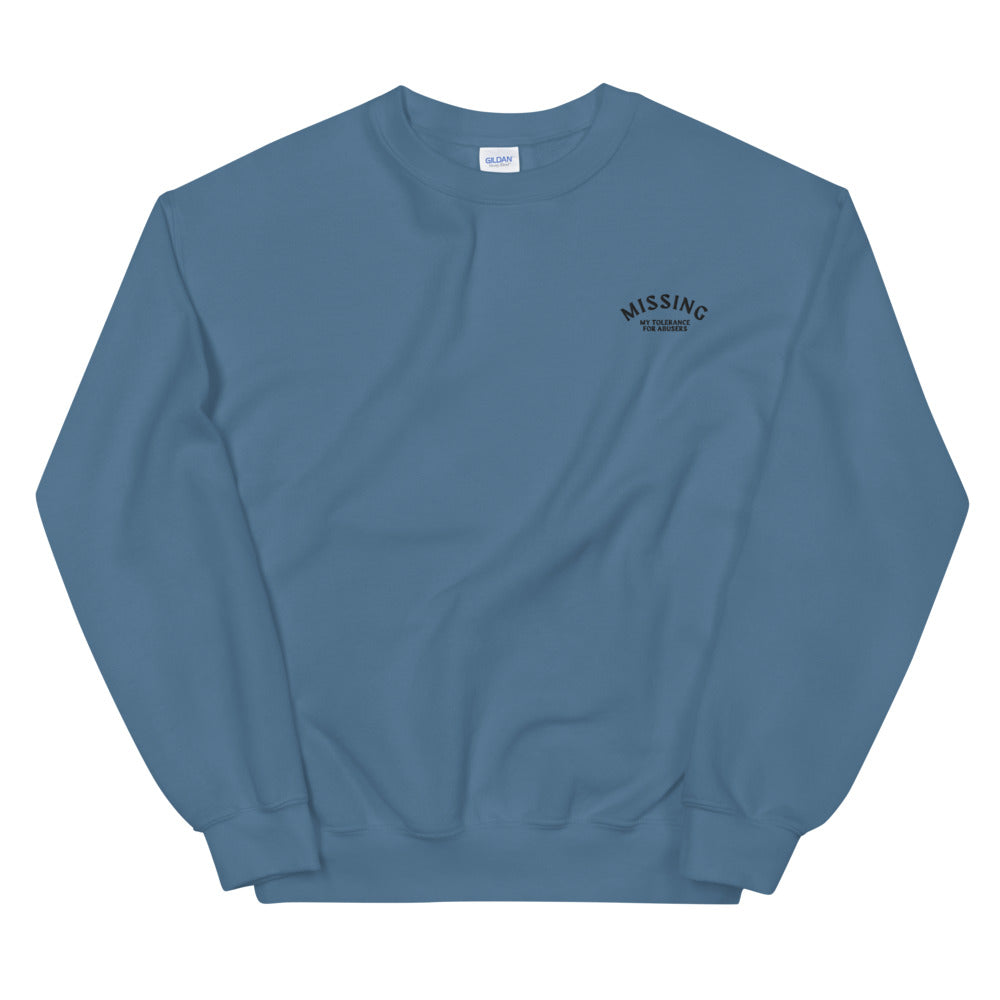 Missing Crewneck (avail in 5 colors)