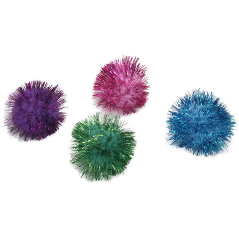 Coastal Rascals Glitter Pom Pom Cat Toy