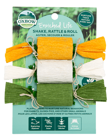 Oxbow Enriched Life Shake,Rattle & Roll 3pc
