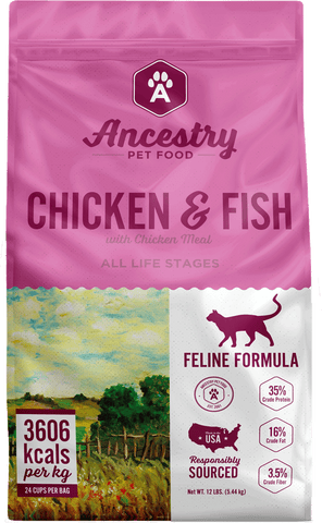 Ancestry Chicken & Fish (12# Variety)
