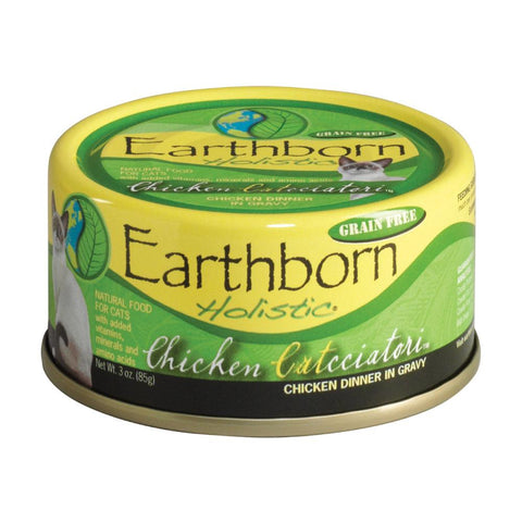 EARTHBORN FELINE CHICKEN 3oz