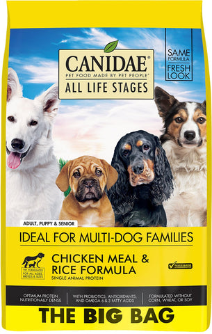 Canidae Dog Food - Chicken & Rice ALS (44#)