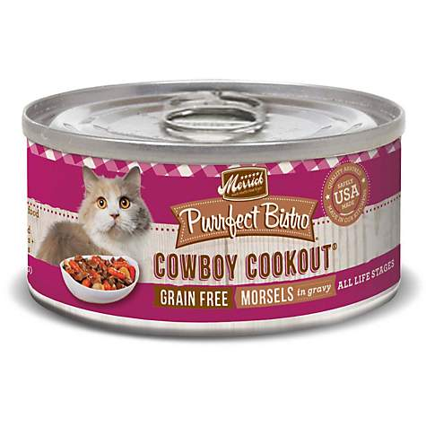 Purrfect Bistro Cowboy Cookout 5.5oz Cat Can