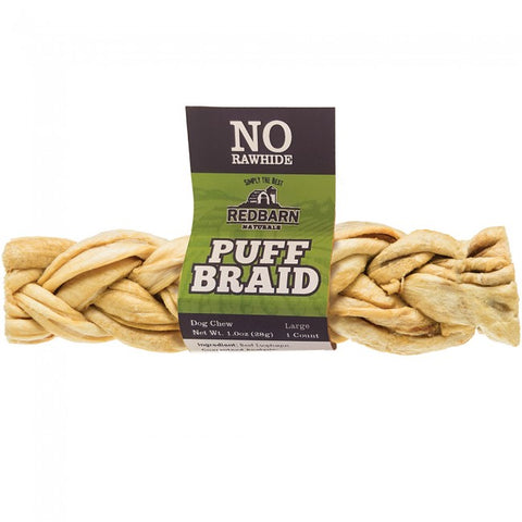 Redbarn No Rawhide Puff Braid (1 oz)