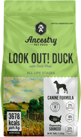 Ancestry Lookout Duck (4# Variety)
