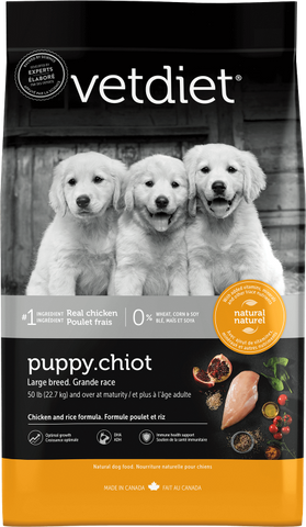 Vet Diet Puppy Food - Large Breed (30#)