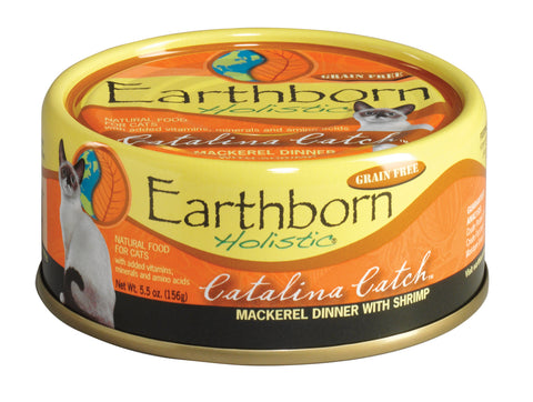 Earthborn Catalina Catch 5.5oz Cat Can