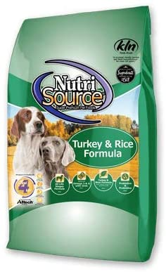 Nutrisource Turkey/Rice Dog Food 30#