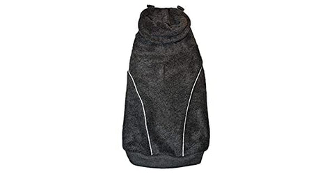 Fashion Pet Arctic Fleece Coat Snood - Gray