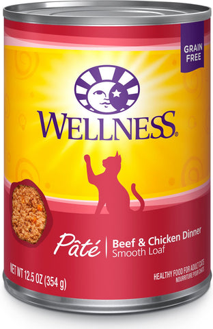 Wellness Complete Health Beef & Chicken Cat Can 12oz