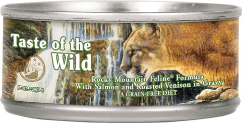 Taste Of The Wild Rocky Mountain - 5.5oz Cat Can