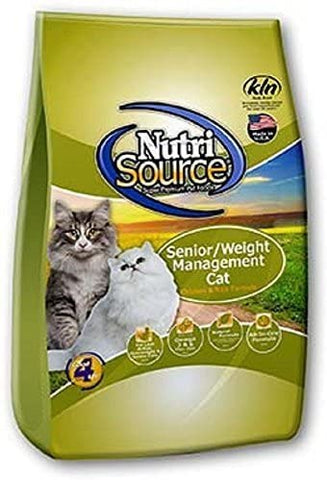 Nutrisource Senior/Weight Mgmt Cat 16#