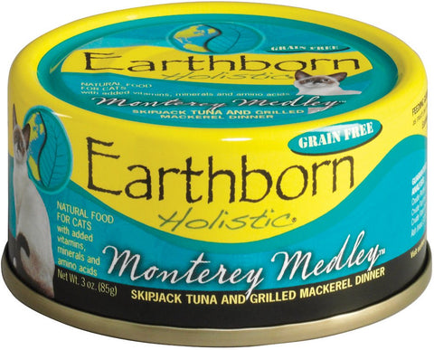 Earthborn Holistic - Skipjack Tuna & Mackerel 5.5oz Cat