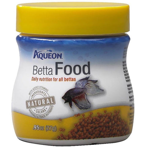 Aqueon Betta Food .95oz