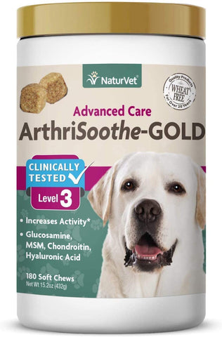 NaturVet Arthrisoothe Gold 180ct