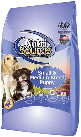 Nutrisource Dog Small/Med Chicken & Rice Puppy 5#