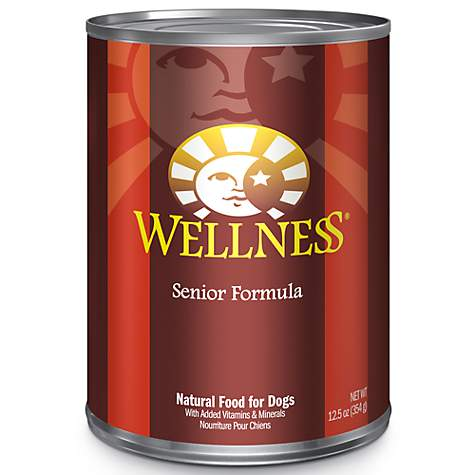 Wellness Complete Health Senior Recipe 12.5oz Dog cans