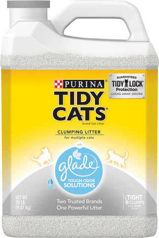 Tidy Cat Glad Odor Solutions Cat Litter (20#)