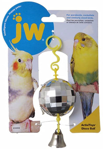 JW Pet Disco Ball Bird Toy