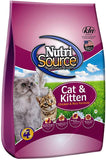 Nutrisource Feline Chicken/Rice 16#