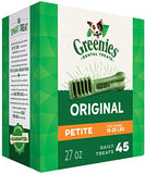 Greenies Treats - Petite Dogs (45 Pack)