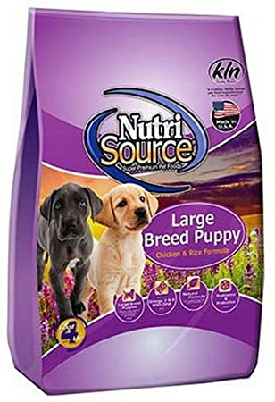 Nutrisource Large Breed Chicken/Rice Puppy 5#