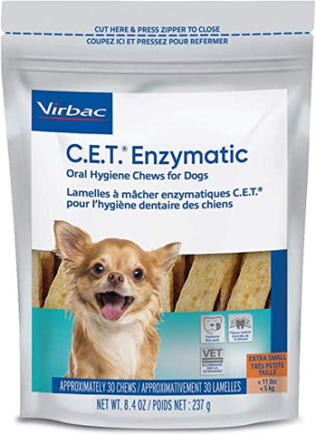 C.E.T Enzymatic Chews (X-Small For Dogs)