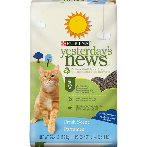 YESTERDAY'S NEWS CAT LITTER 26#