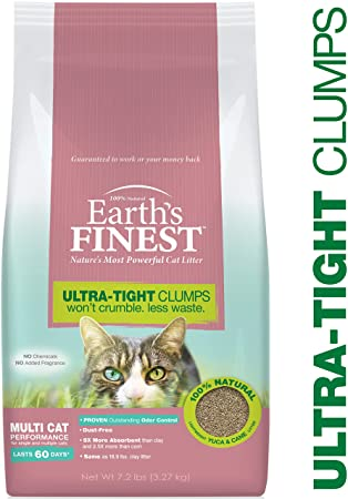 Earth's Finest Cat Litter 7.2#