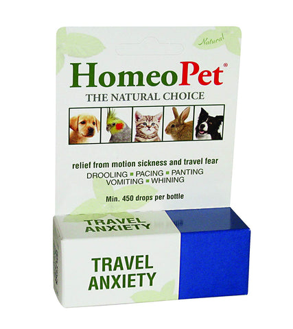 HomeoPet - Travel Anxiety
